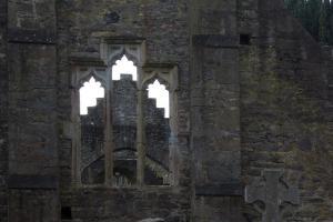 Abbey at Malahide Castle, County Dublin