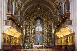 Altar, New Cathedral, Coimbra