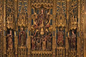 Altar, Old Cathedral, Coimbra