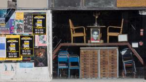 Cafe, LX Factory, Lisbon