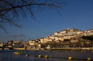 Coimbra from Mondego river