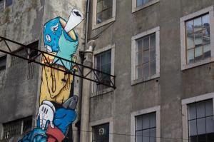 Mural, LX Factory, Lisbon
