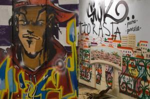 Mural, Alcantara station, Lisbon