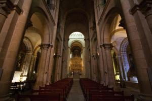 Nave of Old Cathedral, Coimbra