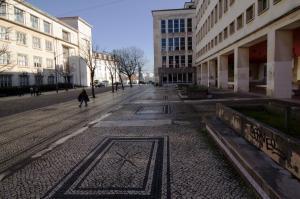 University buildings, Coimbra